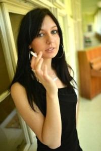 woman smoking and COPD