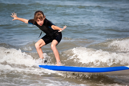 Cystic Fibrosis Patients Benefit From Saline Therapy Naturally Through Surfing