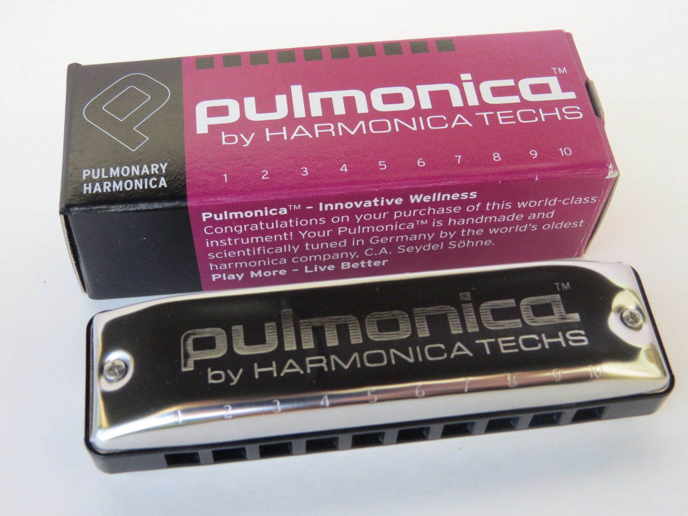 Pulmonica Harmonica Helps Patients Manage Asthma, COPD According To Experts