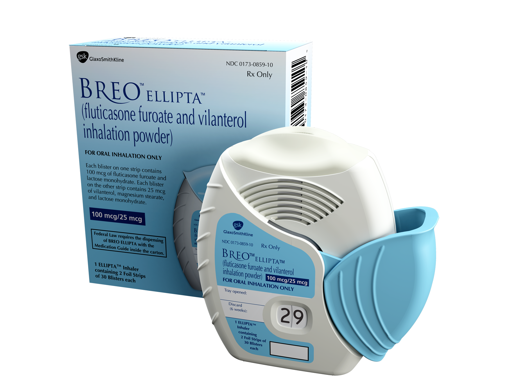 Breo Ellipta Now Approved as Asthma Treatment for Adult Patients in Canada