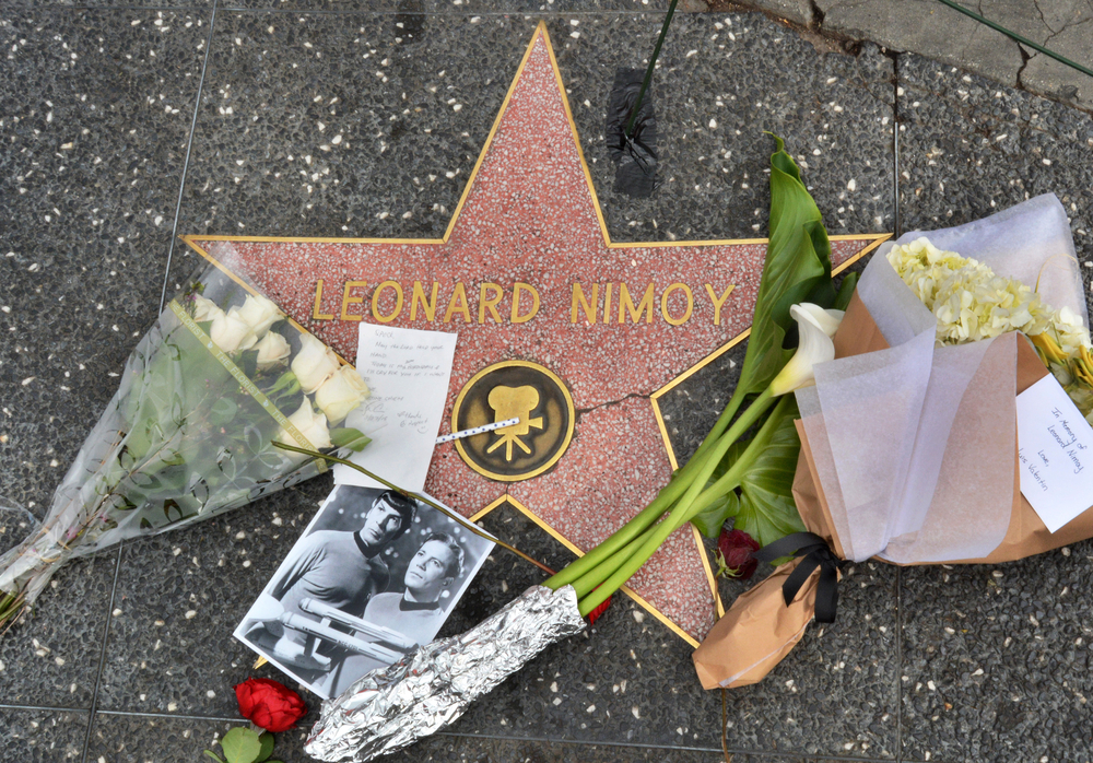 """Online Store """"Shop LLAP"""" Relaunches to Commemorate Star Trek Icon and COPD Victim Leonard Nimoy"""