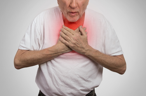 shortness of breath may be symptom of copd or heart disease, Skeleton